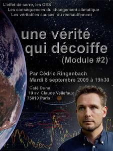 conférence climat café dune